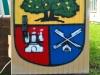 Wappen für Eidelstedt - Graffiti-Umsetzung des Wappens von Vincent Schulze, April 2012