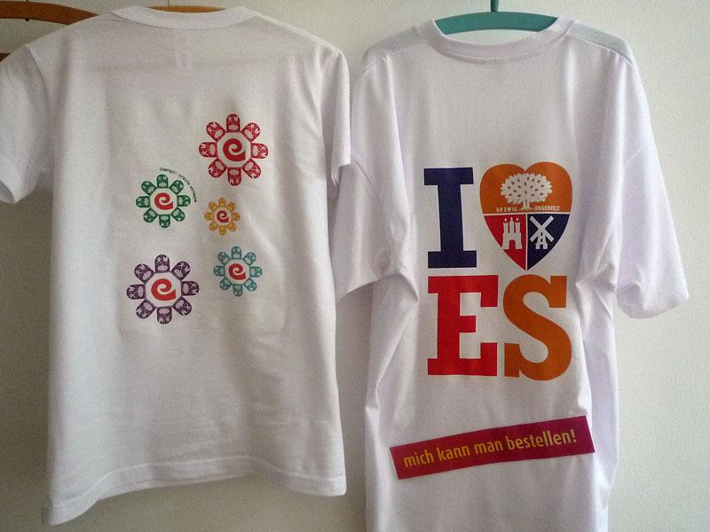 Wappen T-Shirts auf dem Eidelstedter Stadtteilfest 2012