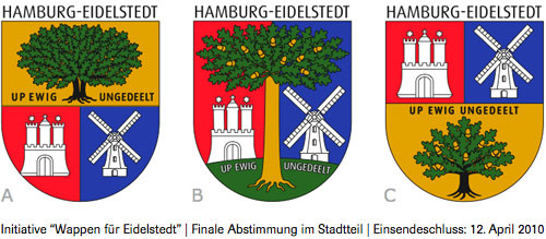 Wappen für Eidelstedt – Favoriten