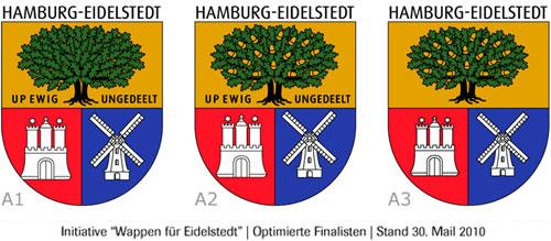 Wappen für Eidelstedt – Finalisten