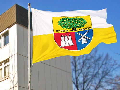 """Flagge """"Wappen für Eidelstedt"""""""